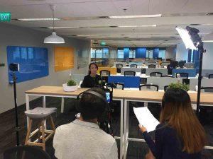 interview video - talking heads